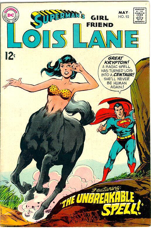 LoisLane_centaur_comiccover
