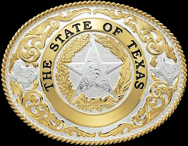 Texas-state-belt-buckles